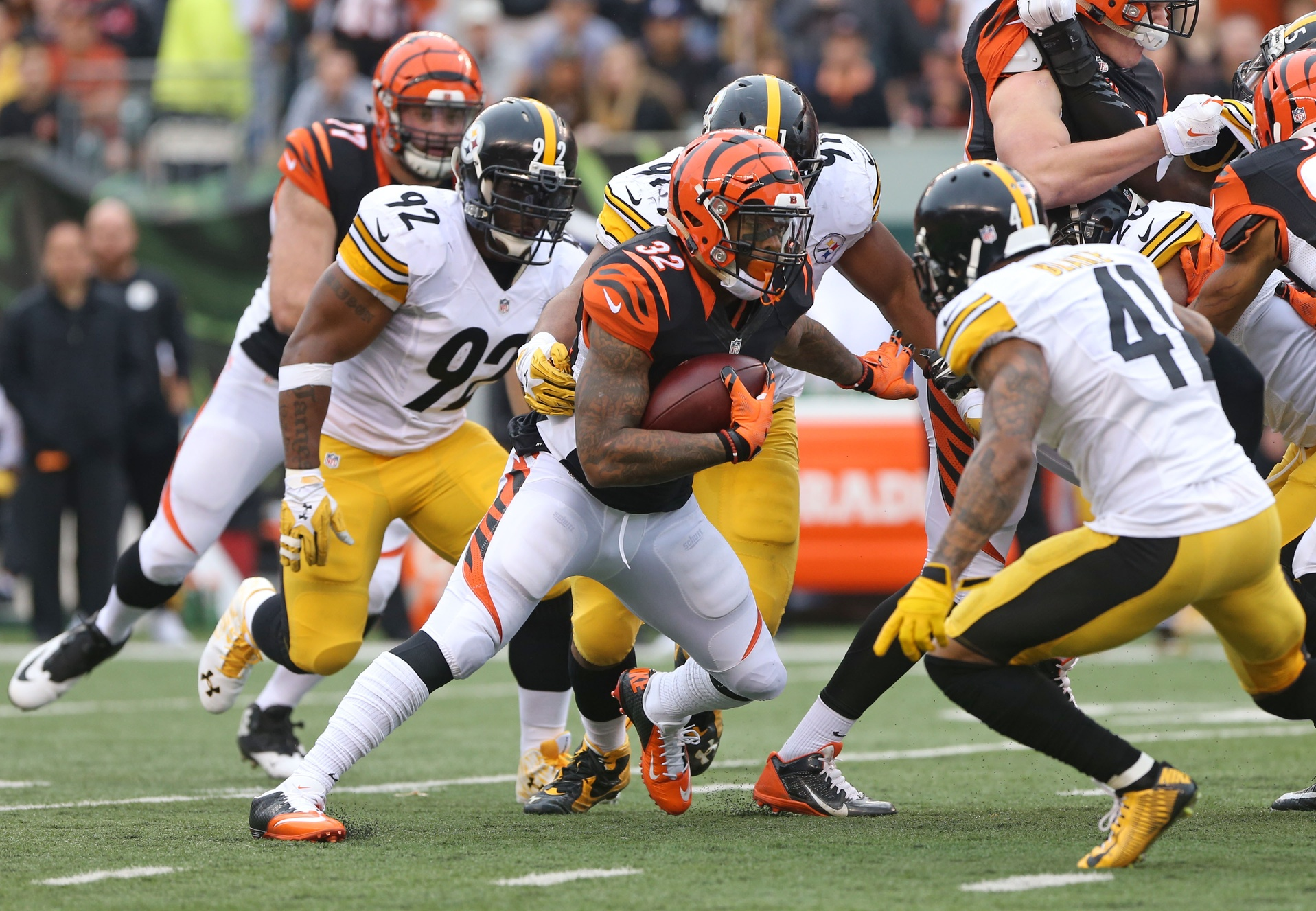Steelers at Bengals